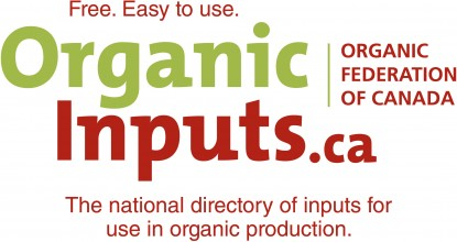 OrganicInputs.ca Becomes The Main National List of Approved Inputs