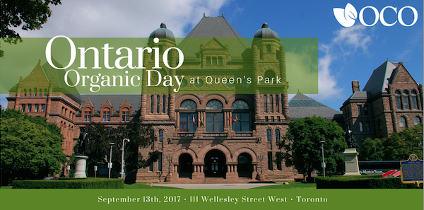 Ontario Organic Day At Queens Park