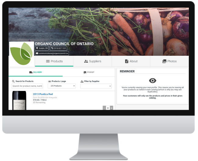 Call for Members: Join the Ontario Organic Online Marketplace!
