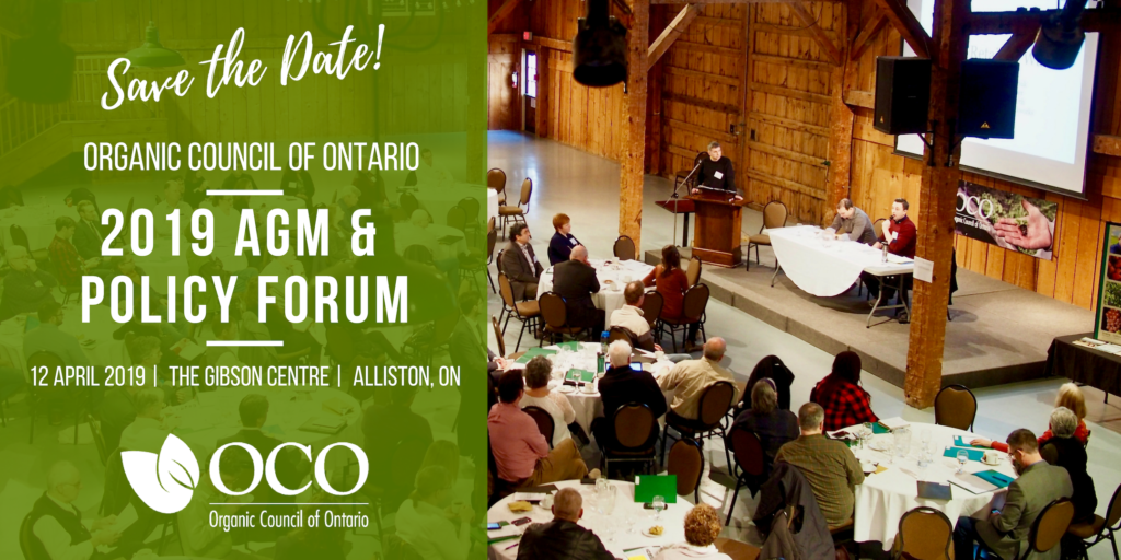 Registration Open for OCO's 2019 AGM & Policy Forum