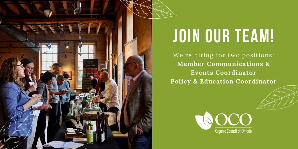 We're Hiring! Member Communications & Events Coordinator and Policy & Education Coordinator